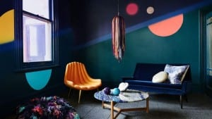 The Dulux colour trend forecaster for 2016 focusing on solid colours and inky walls