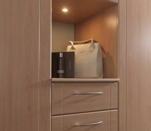 Bespoke fitted furniture and storage options