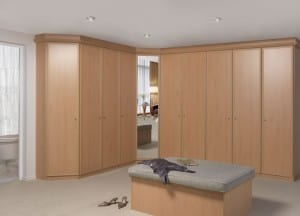 Walk in wardrobes offer any combination of versatile storage solutions