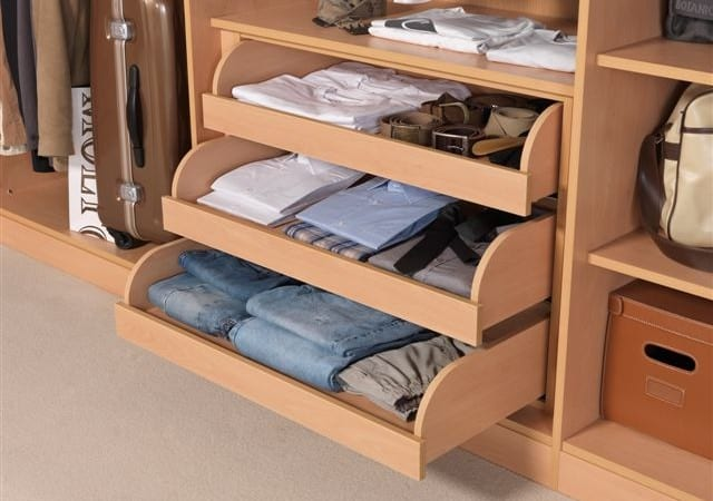 wardrobe interior drawer