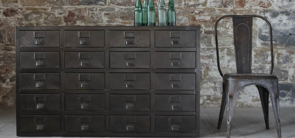 Industrial design cabinet