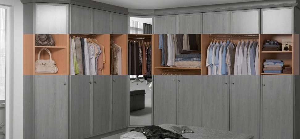 Fitted dressing room