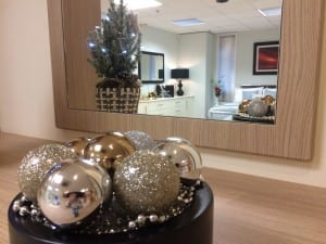 Showroom at Christmas