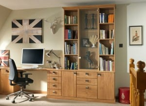 home study book shelving