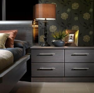 Dark Milan bedside unit