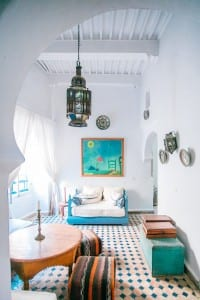 Moroccan inspired interior