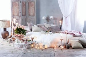 Romantic bedroom from Anna Morgan