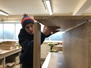 Award Winning, Luke, cabinet making