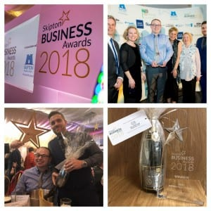 Award Winning Fitted Furniture at Skipton Business Awards