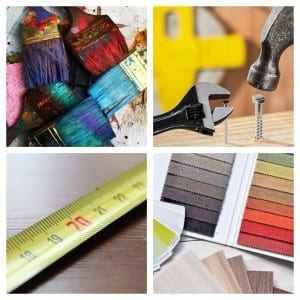 Home painting and decorating materials