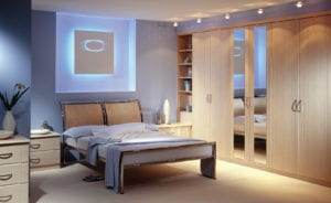 Relaxing fitted bedroom