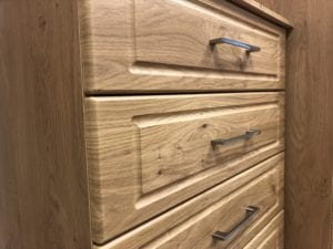 Walnut chest of drawers - summer furniture