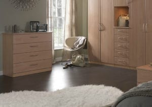 Natural materials for bedroom furniture