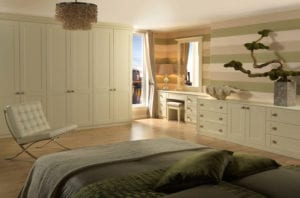 Shaker style fitted bedroom