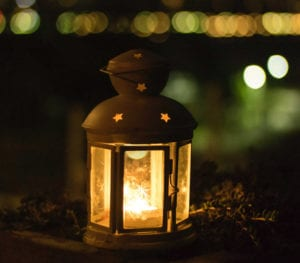 Subtle lighting creates atmosphere and a cosy feel for your outdoor space