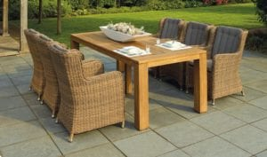 Patio furniture should be practical, yet complement your home and garden