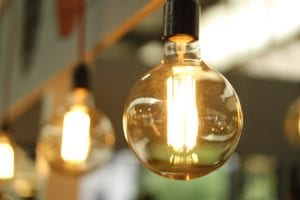 Energy saving lightbulbs