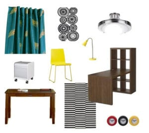 Create a mood board for your room