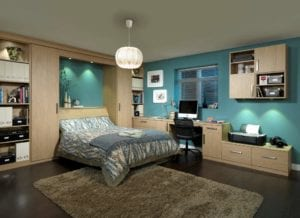 Tidy bedrooms provide a space to relax body and mind