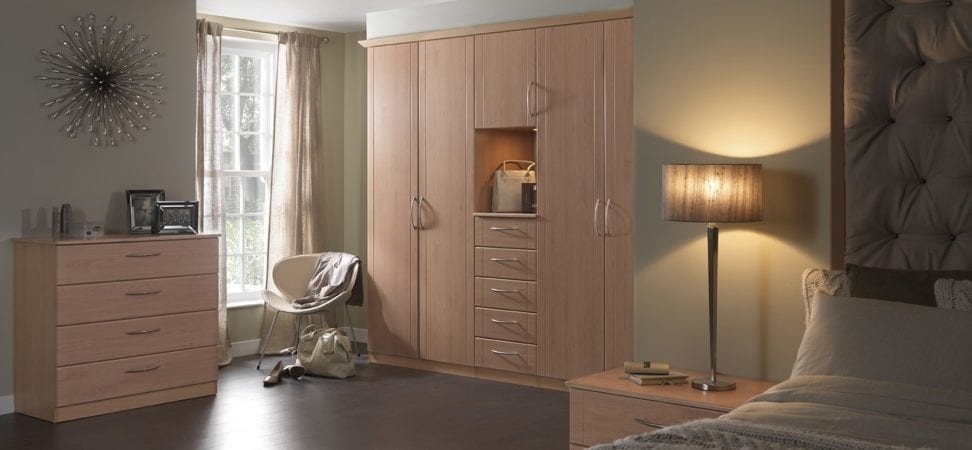 beech fitted furniture