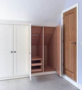 Storage solutions - fitted wardrobe space