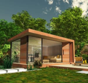 Conservatories, summer houses and garden offices