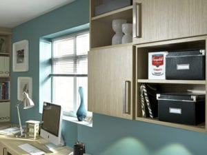 Fitted office storage solutions