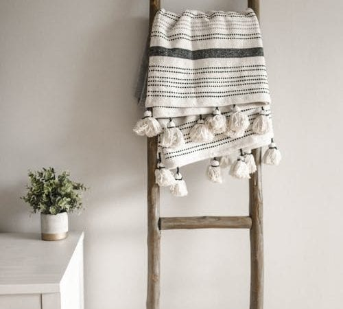 ladder for interior decor