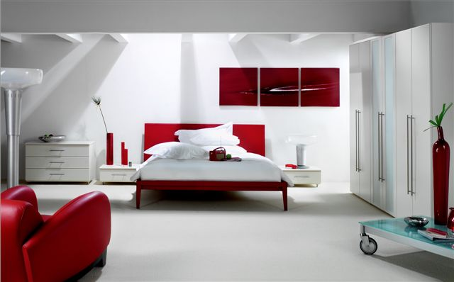 white freestanding bedroom furniture