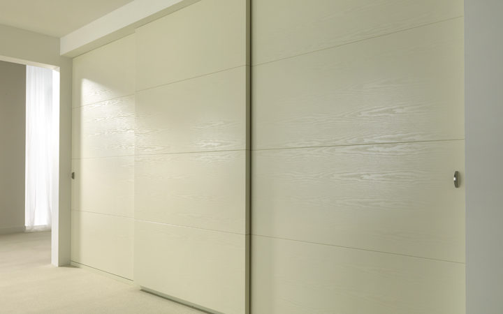 cream wardrobe sliding doors