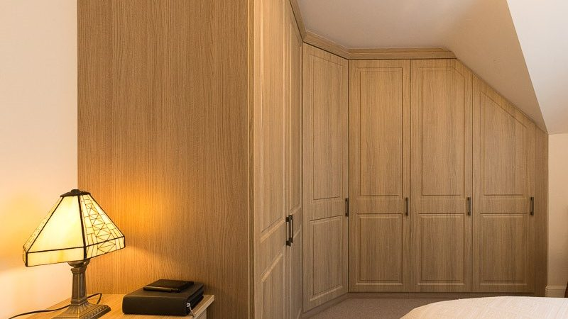 wood grain fitted wardrobes