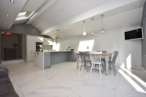 Kate Bailey kitchen design - open plan living