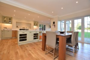New open plan kitchen by Kate Bailey