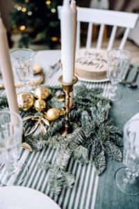 Forage for your fir table wreaths