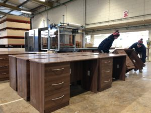 Trade office furniture