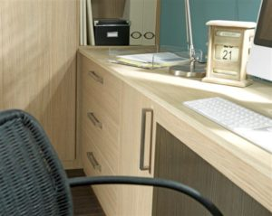Uncluttered work space